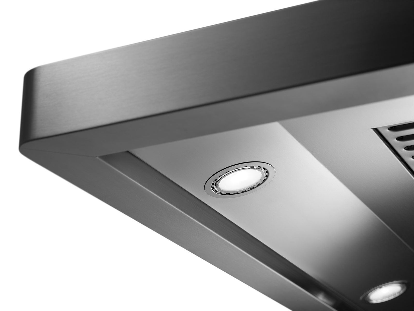 The lighting of a Dacor ventilation hood.