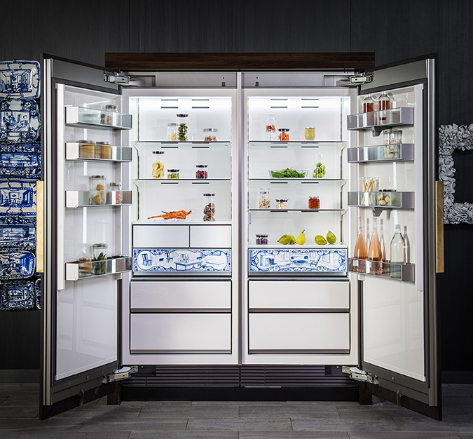Luxury Porcelain Refrigerator