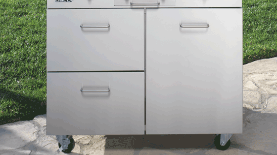 Easy-to-Reach Drawers